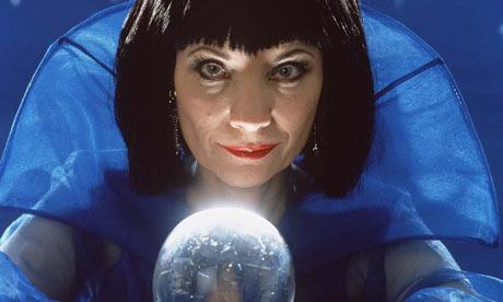 Mystic Meg - the future-fortelling lady