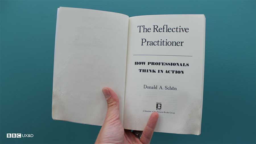 The Reflective practitioner by Donald A Schon